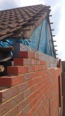 PRC brickwork gable - PRC brickwork gable