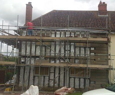 PRC repairs scaffold - PRC repairs scaffold