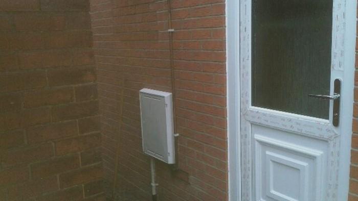 New back door - New back door